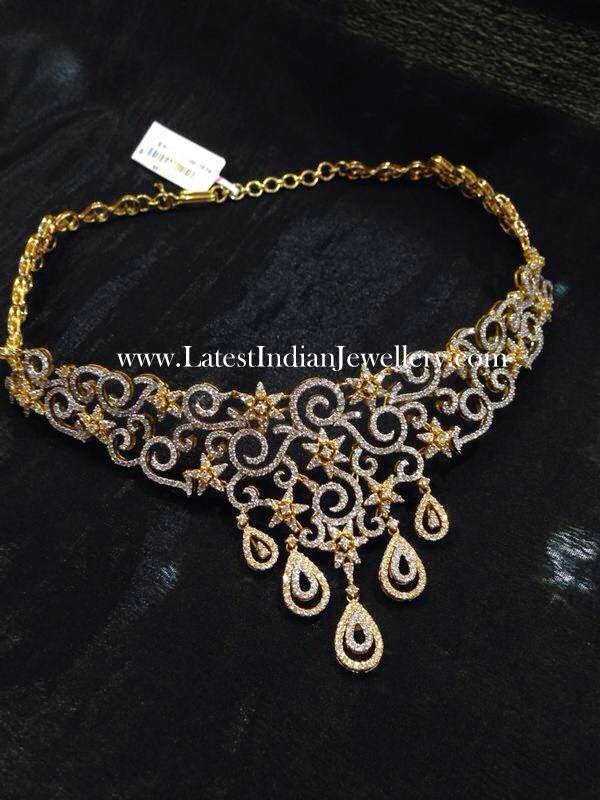 18 kt Diamond Necklace
