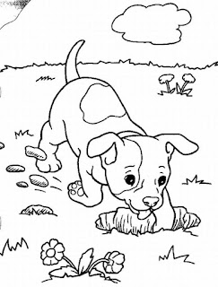 Cute Dogs Coloring Pages For Print Online