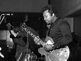 Chicago blues guitarist Otis Rush