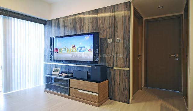 溱柏客廳室內設計,Park Signature living room interior design