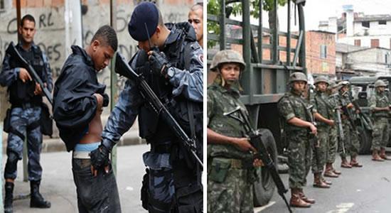 """URGENTE! Após onda de violencia, a ordem é limpar o Rio de Janeiro """" BANDIDO COM MEDO E POLICIA NA RUA"""""""