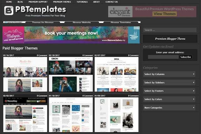premium-blogger-templates-Blogger 付費範本整理 + 建議事項