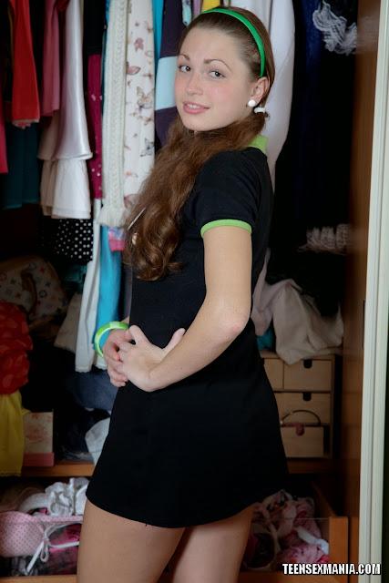 Nuori kiimainen teini tyttöjä rintaliivit-6432
