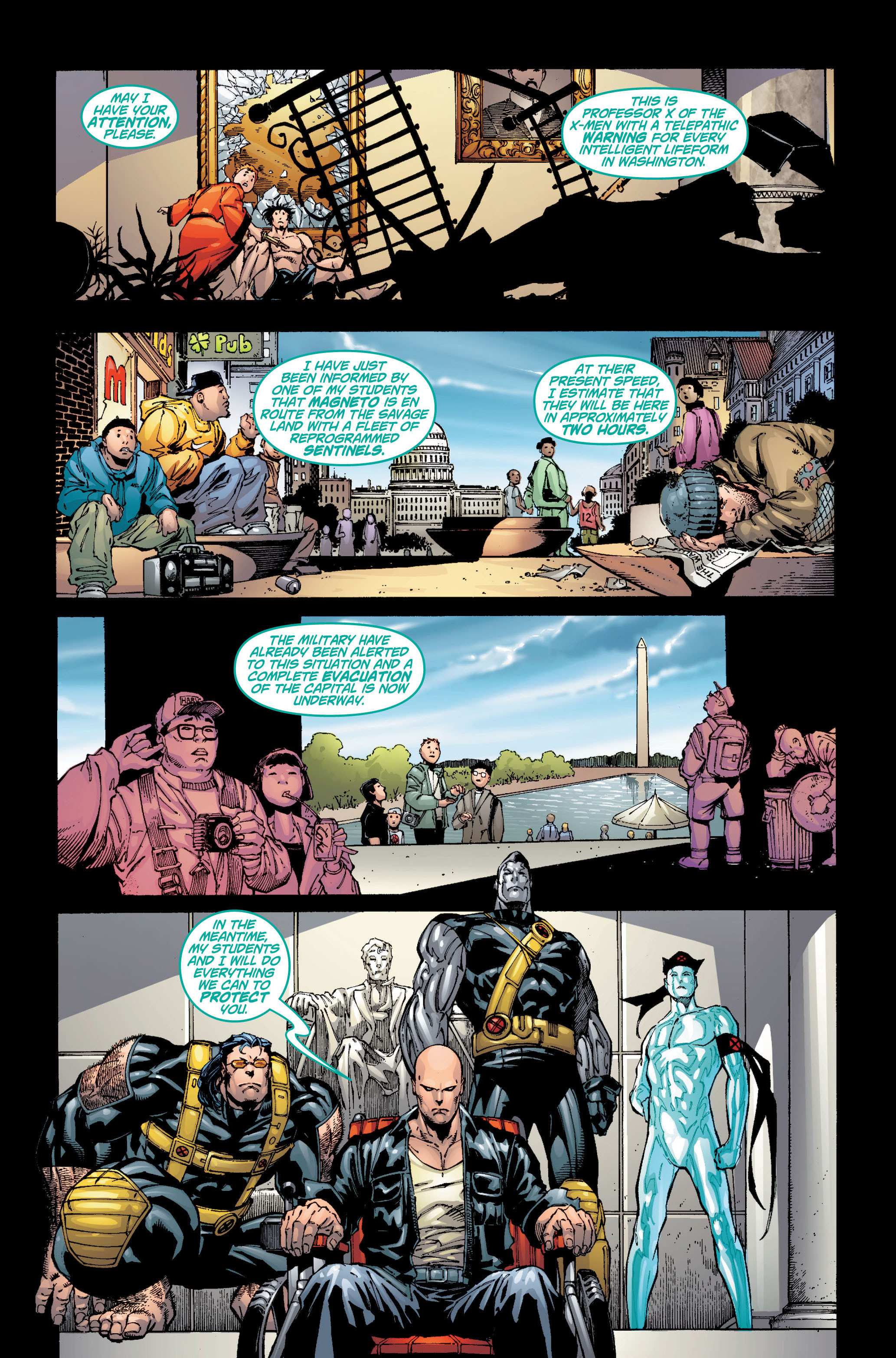 Read online Ultimate X-Men comic -  Issue #6 - 3