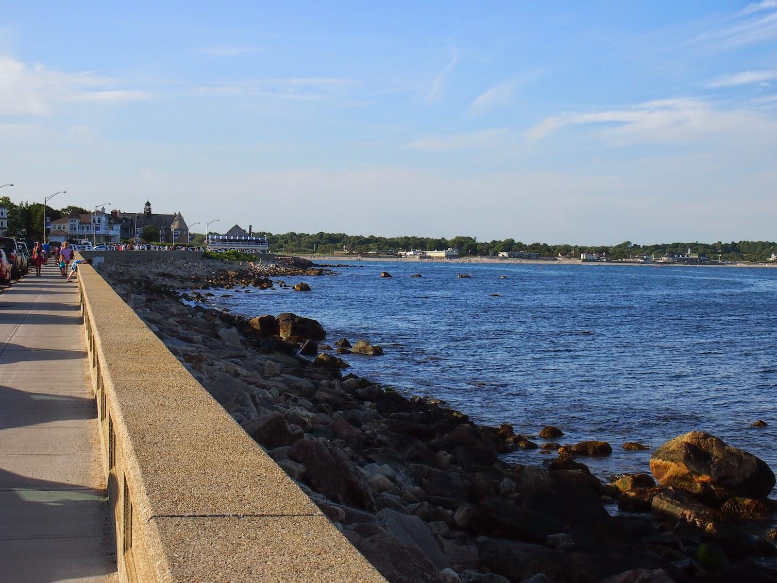 the Narragansett shoreline