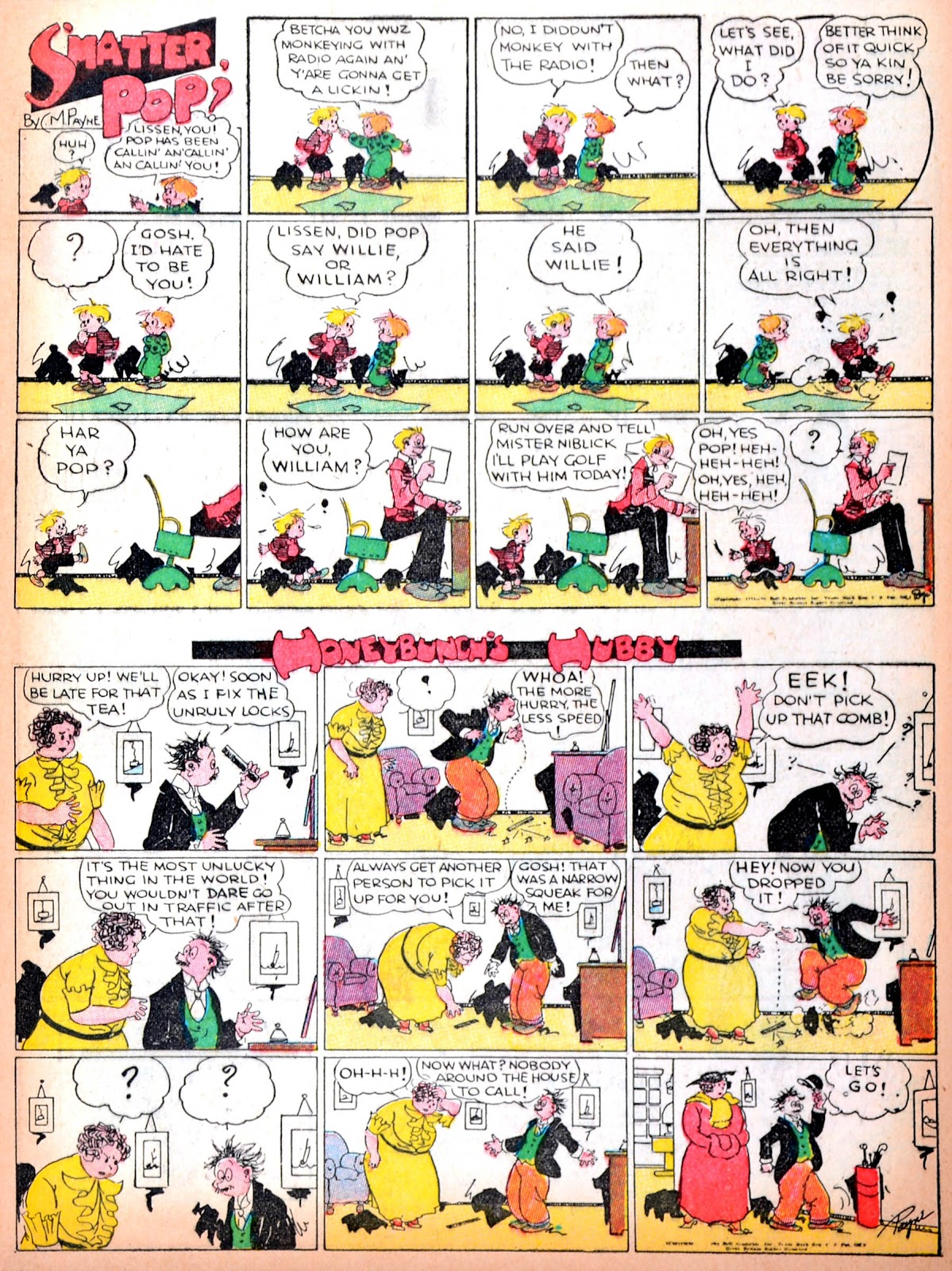 Read online Famous Funnies comic -  Issue #11 - 15