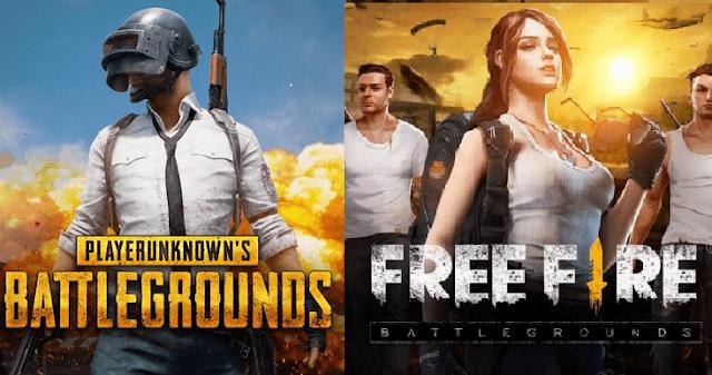 PUBG VS Free Fire Mana Yang Terbaik