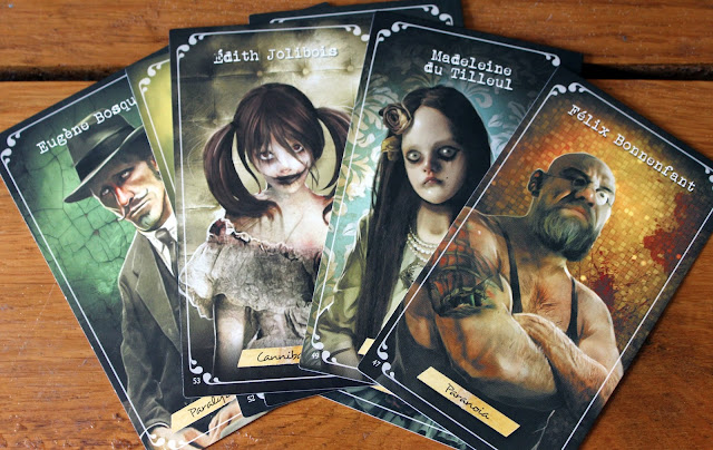 TIME Stories character cards