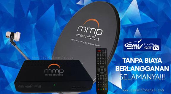 Inilah Daftar Channel Dari Provider MMP-SMV TV di Satelit ABS2A
