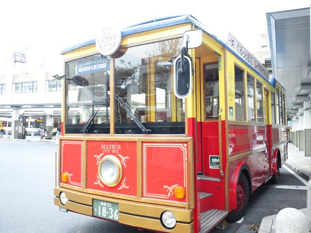 松江レイクラインバス