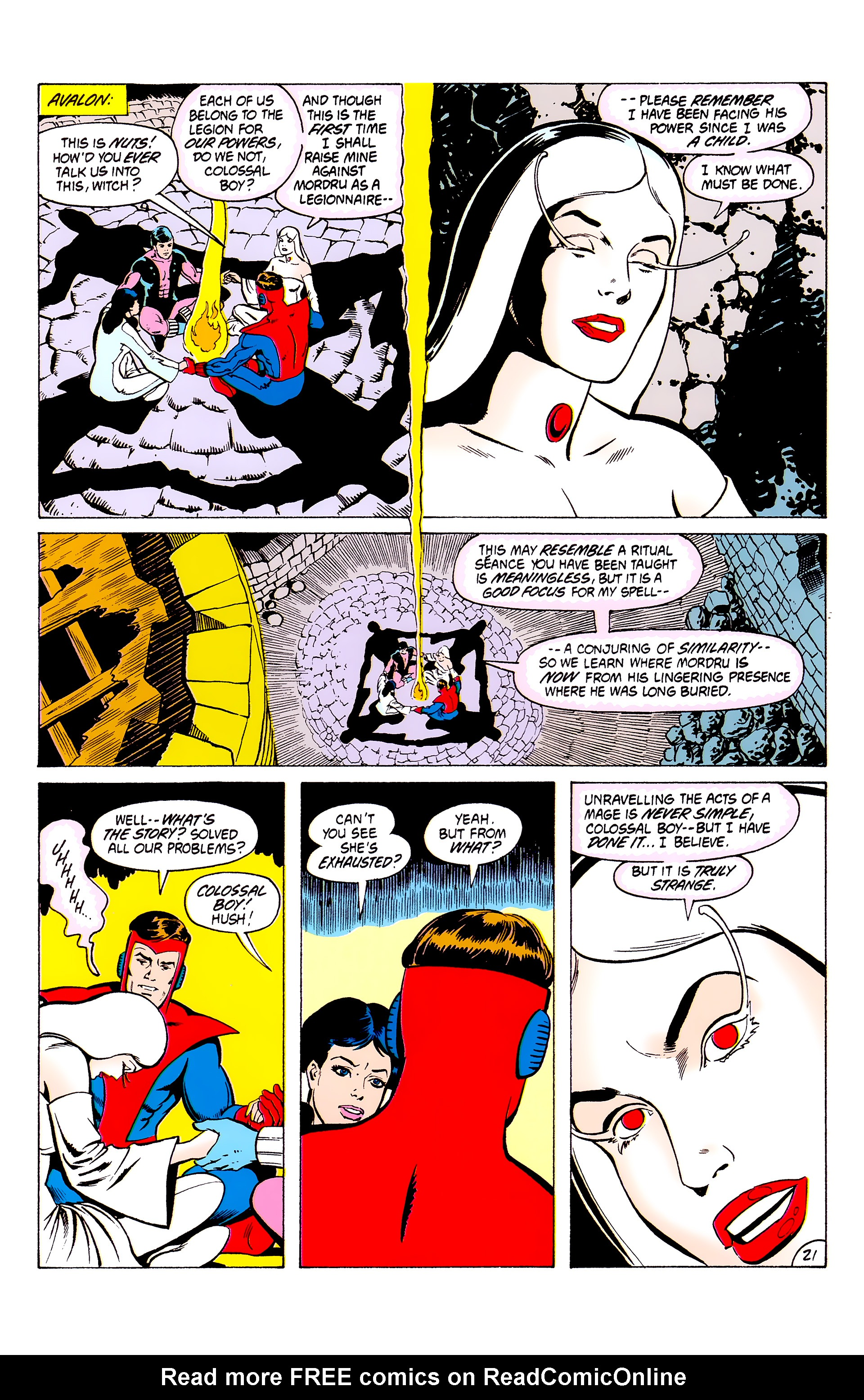 Legion of Super-Heroes (1980) _Annual_3 Page 21