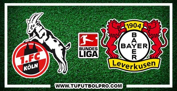 Ver Colonia vs Bayer Leverkusen EN VIVO Por Internet Hoy 21 de Diciembre 2016