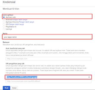 Login with Google, Twitter & Facebook in Laravel 5.3