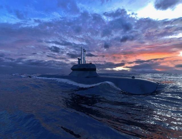 El equipo de Saab-Damen desvelan diseño de submarino para Holanda. Expeditionary_Sub_sea_1%2B%25281%2529
