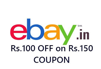 eBay is back again with another loot offer for their new users - Now Place an order Above Rs.150 and get flat Rs.100 off. You can also redeem your Payback points on eBay.in