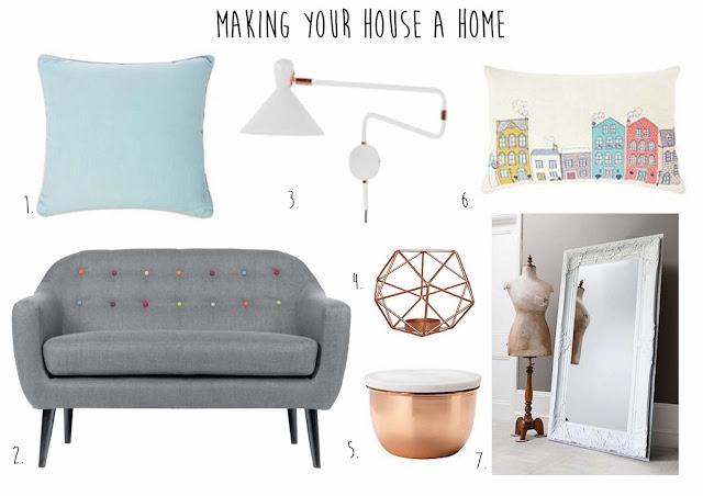 make house a home moodboard