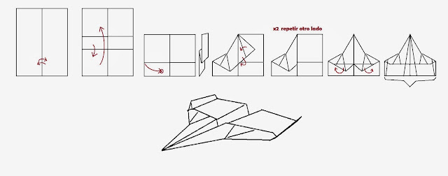 Avión de papel Wing 30