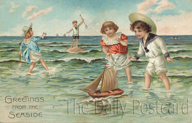 The Daily Postcard: Greetings from the Seaside