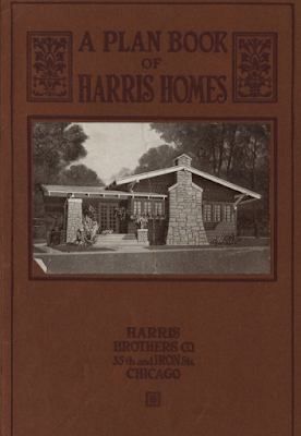 1918 harris homes plan book