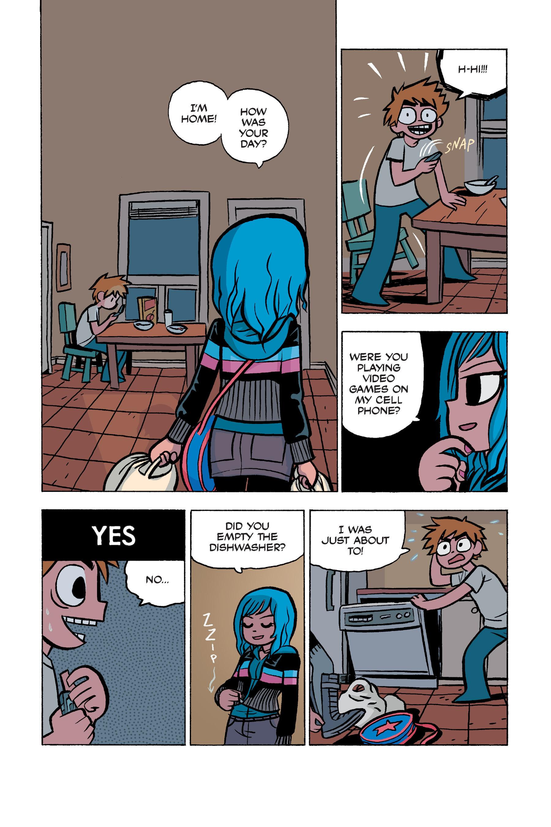 Read online Scott Pilgrim comic -  Issue #5 - 27