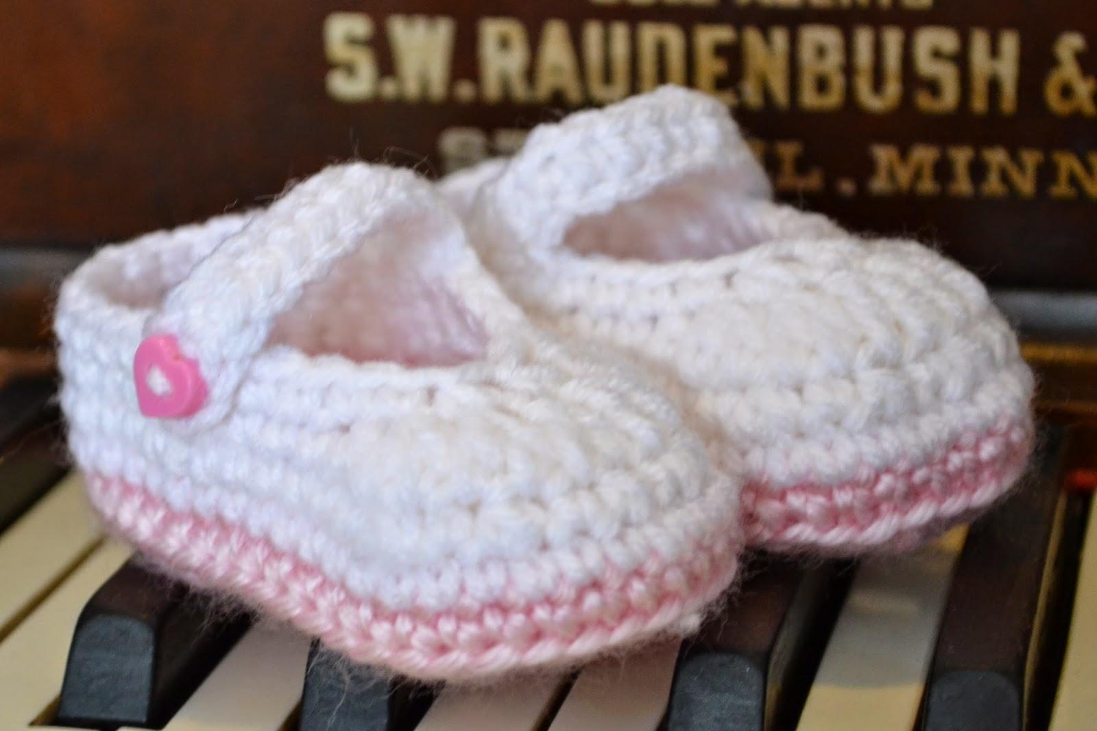 20287f0f9 Knotty Knotty Crochet: Pretty & Plain little Mary Jane FREE crochet ...