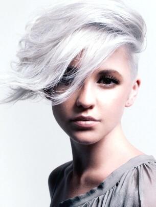 hair color corner smokey platinum blonde
