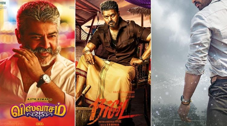 Ajith vs Vijay Viswasam vs Bigil