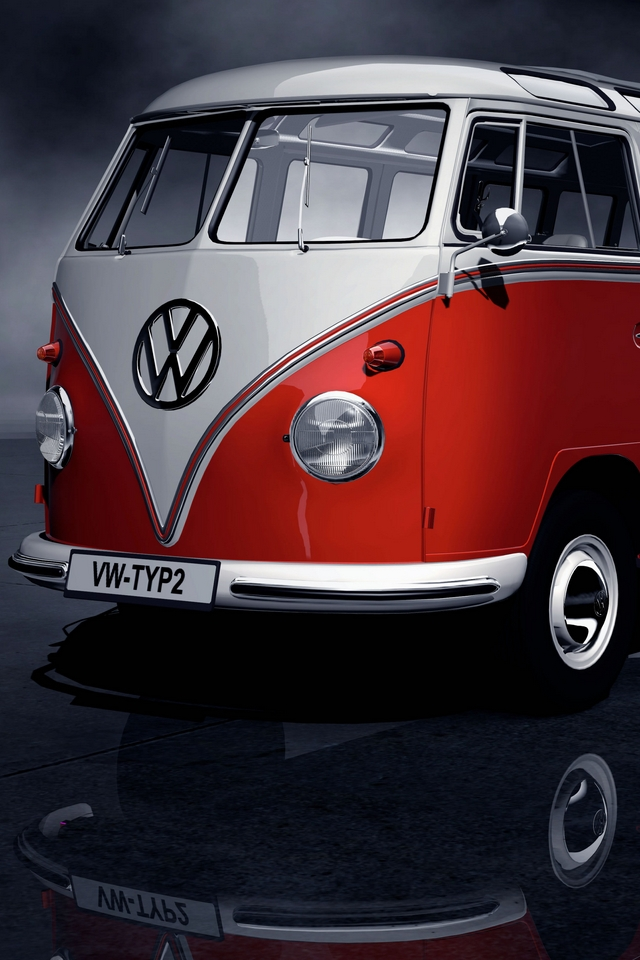 Volkswagen old car  Download iPhone,iPod Touch,Android Wallpapers, Backgrounds,Themes