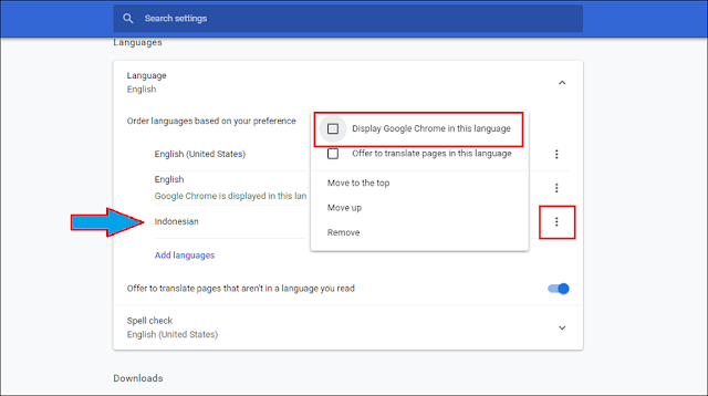 Cara Mengganti Bahasa di Google Chrome Komputer