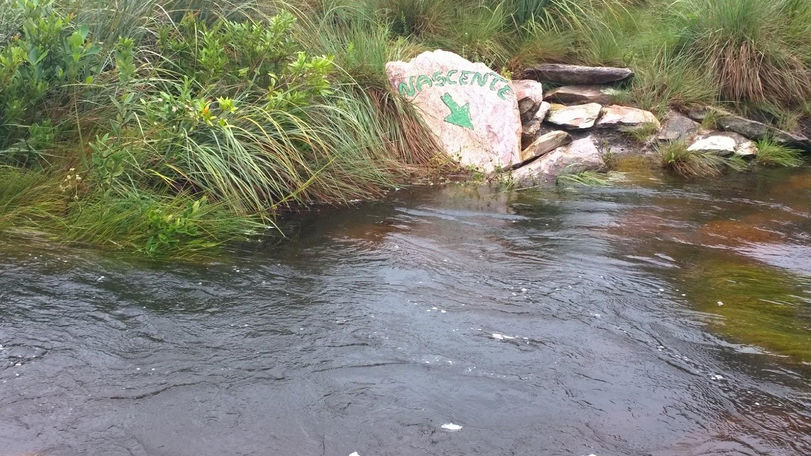 Uma das nascentes do Rio São Francisco - Serra da Canastra-MG