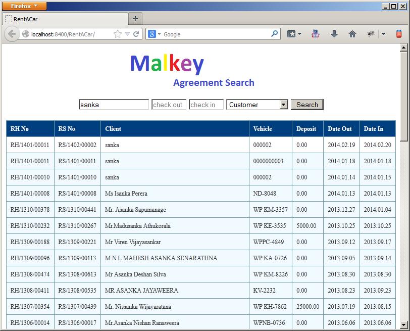 JSON Spring Maven JQuery Sample App | Sanka's Knowledge