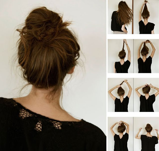 Amazing How To Make French Knot Hairstyle 94447 Messy Quotfrench Bun Hairstyles For Women Draintrainus