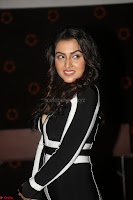Ananya Soni in a Deep neck white blackl Dress at Shamanthakamani pre release function ~  Exclusive 072.JPG