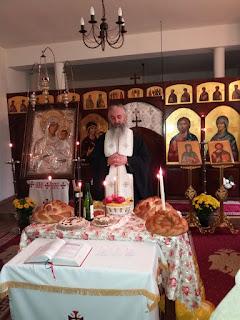 """Parastas, Manastirea """"Sfanta Elisabeta"""" Cluj-Napoca"""