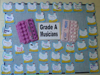 Grade A Musicians by The Bulletin Board Lady