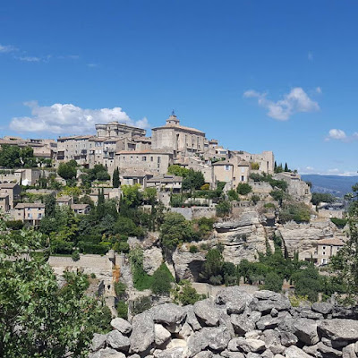 Gordes Plus beau village de France Provence Enjoy the little things Pensée positive Positive Thinking Gratitude Journal
