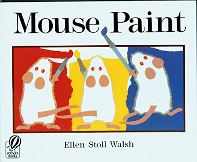 Mouse Paint, part of children's book review list about mice