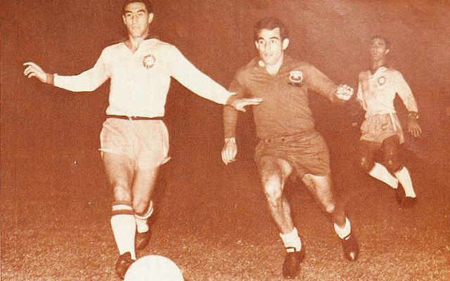 Chile y Brasil en Copa O'Higgins 1966, partido de vuelta