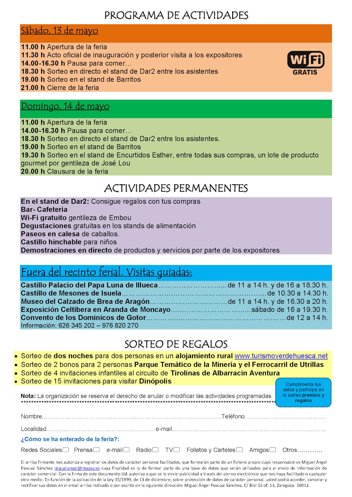 Dentro de las actividades de la 3ª Feria Expo Calzado de Brea de Aragón 16ea58c856e0