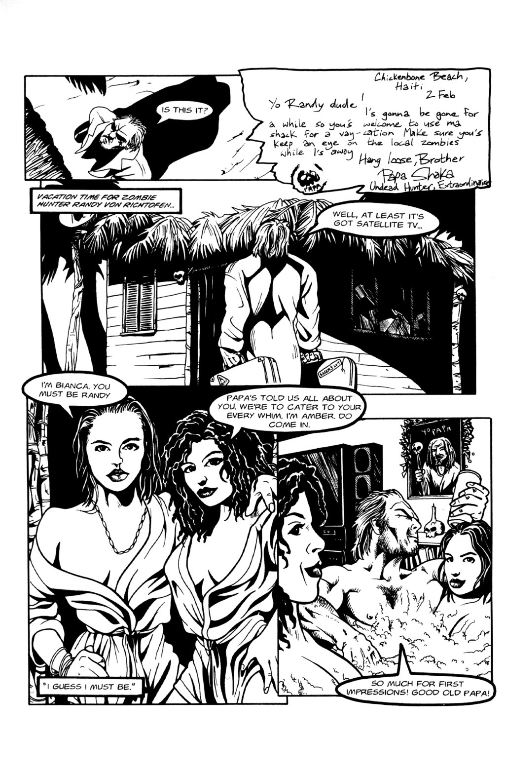 Read online Night of the Living Dead (1994) comic -  Issue #0 - 4