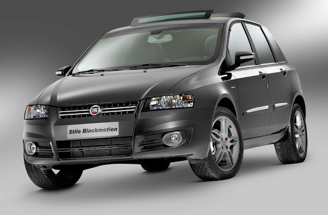 Fiat Stilo 2010 Black Motion