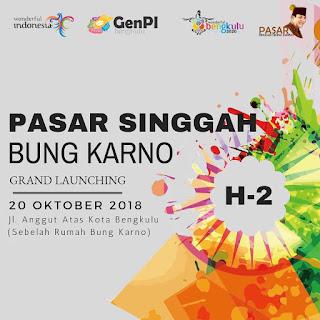 Keindahan Wisata di Pasar Singgah Bung Karno Bengkulu.