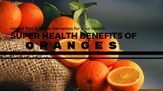 5 Super Health Benefits Of Oranges