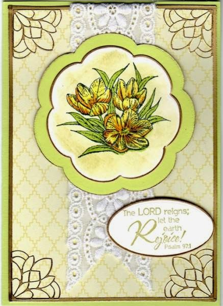 ODBD Earth's Gladdest Day, Card Designer Karen Wallace
