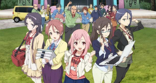 Anime P.A.Works Terbaik - Sakura Quest