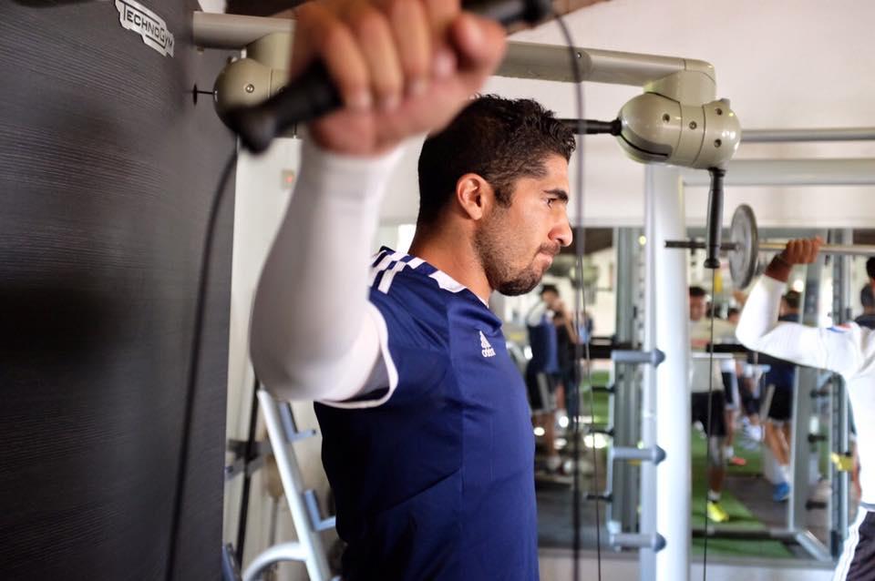 El futvbolista Jair Pereira.