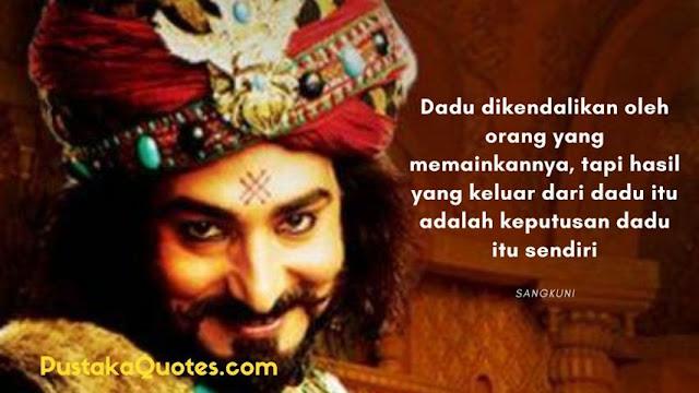 Kata Kata Mutiara Sangkuni Mahabharata