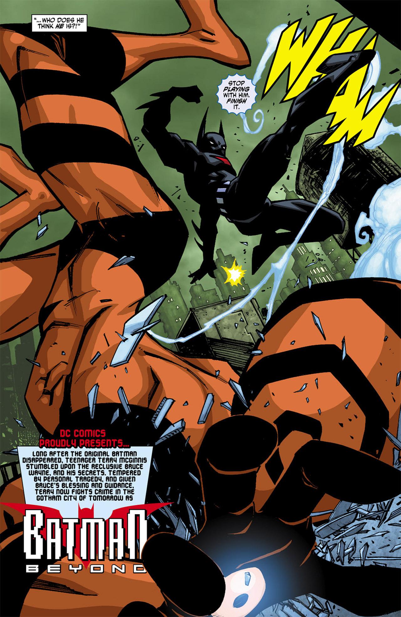 Batman Beyond (2010) Issue #1 #1 - English 6