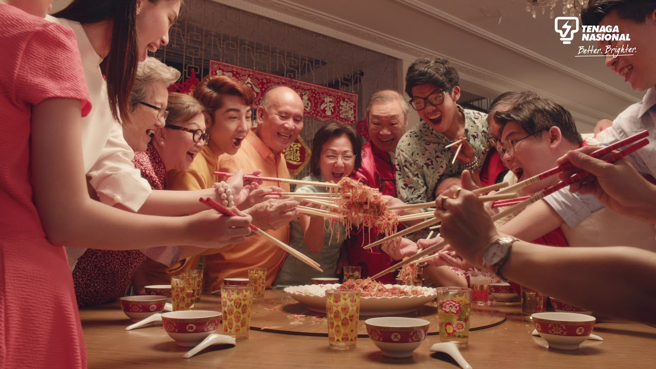 Top 20 CNY video commercials in Malaysia 2019