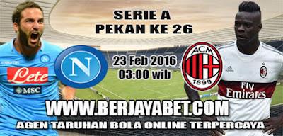 Napoli v AC Milan AGEN BOLA
